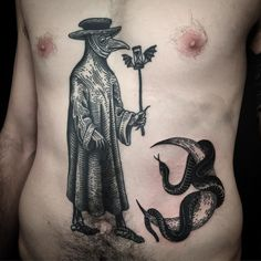 Plague Doctor healed, snake and moon fresh. Thank you @pauljduck can't wait to do more!