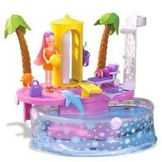 Polly Pocket Splash Pool. I still have the pool and some a lot of the  pieces. Fun to look back at pictures and remember all the things it came with and see what I'm missing