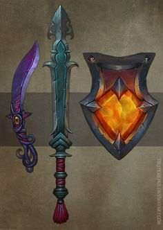 Weapons concept 03 by FirstKeeper on DeviantArt