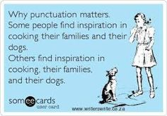 Image result for punctuation saves lives