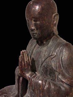 Guimet, Museum of Asian Art of Paris, Meditating Monk, China XII C. Credit Asaf Braverman