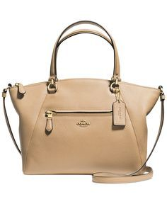 coach bags online outlet pz65  COACH Prairie Satchel in Pebble Leather