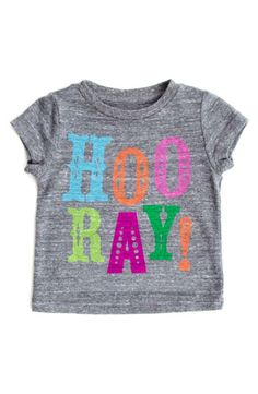 Hooray for cute tees!
