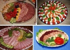 Beautiful dishes on the holiday table…. Meat Trays, Food Platters, Christmas Appetizers, Appetizers For Party, Food Design, Fruits Decoration, Food Carving, Party Trays, Healthy Banana Bread