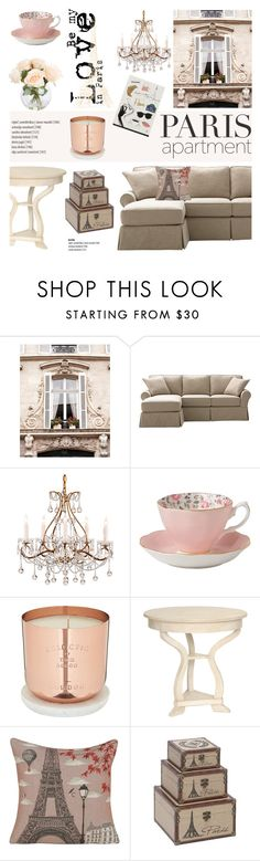 """Paris Apartment"" by helenevlacho on Polyvore featuring interior, interiors, interior design, home, home decor, interior decorating, Home Decorators Collection, Royal Albert, Tom Dixon and Yves Delorme"