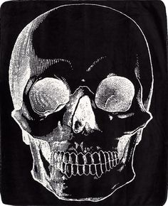 59f4130a922 Inked Boutique - Skull Blanket Throw Blanket Goth Punk Home Decor http   www