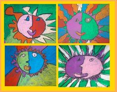 Second Grade and The Aztecs « Mrs. Gutterman's Art Blog