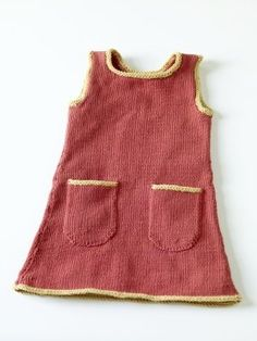 Free Knitting Pattern - Toddler & Children's Clothes: Sundress