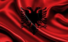 pictures of albanian flag | Albania flag / Wallpapers as