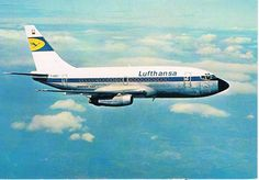 """Lufthansa Boeing 737-130 D-ABEC """"Osnabrück"""" in a promotional image from the late 1960s. (Photo: Courtesy of the collection of Mr. Hugo Hooftman)"""