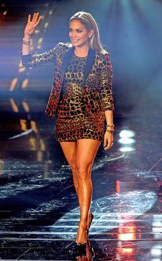 Animal Magnetism from Jennifer Lopez's American Idol Looks | E! Online