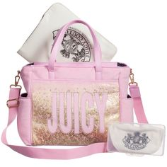 Shop new season Juicy Couture kids clothing at Childrensalon. Discover tracksuits, tops and jeans for girls. Plus, enjoy fast worldwide delivery. Juicy Couture Baby, Baby Couture, Cute Diaper Bags, Changing Bag, Nursery Furniture, Women Bags, Cute Pictures, Fashion Backpack, Gym Bag