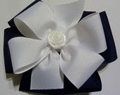 "girls Hair bows about 6"" 100% polyester made in the usa"
