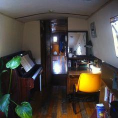 70ft narrow boat london beautiful