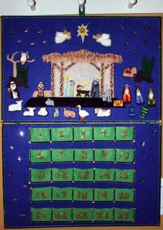 Nativity Advent Calendar - CraftStylish
