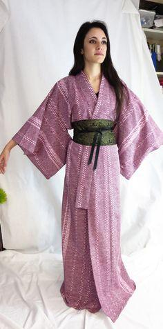 Vintage Kimono, Japanese Kimono, Tattoo Kimono, Vintage Silk Robe, Kimono Robe, Silk Kimono, Vintage Japanese Kimono