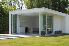 Bart Merckx – Architectenbureau » poolhouse te bornem