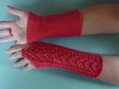 kämmekkäät: sorelli @ www.ullaneule.net Knitting Patterns, Crochet Patterns, Fingerless Mittens, Wrist Warmers, Yarn Projects, Knit Crochet, Socks, Hats, How To Make