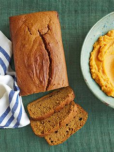 Sweet potato quick bread Extra spuds are given new life in this moist loaf. Serve it for breakfast or dessert!