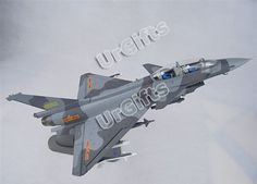 J10 Chinese Combat Aircraft 1 48 Alloy Model J 10 Doubleseat Special | eBay