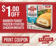 Tri Cities On A Dime: SAVE ON BARBER FOODS - $1.00 COUPON