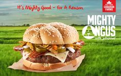 McDonald's Canada is still offering the Angus Third Pounders, known as the Mighty Angus across the border. The newest member of the line is the Mighty Angus with Jalapenos, which is like the premium Jalapeno Double.