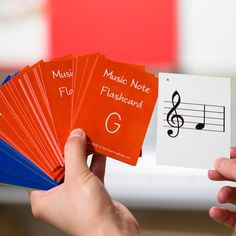 My new student flashcards for students this year!