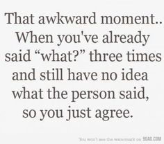 this happens to me so often it's sad..