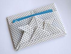 Porta cartões - dobradura em tecido   Cantinho do Origami   Elo7