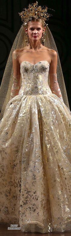 Naeem Khan Bridal Fall 2016 Women's Fashion RTW | Purely Inspiration