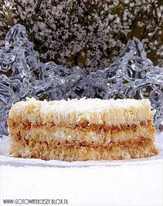 Rafello z Advocatem Fun Desserts, Dessert Recipes, Creme Brulee, Trifle, Parfait, Vanilla Cake, Sweet Recipes, Mousse, Panna Cotta