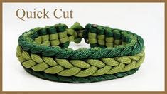 "Paracord Bracelet Instructions: ""Marginal Herringbone Endless Falls"" Bra..."