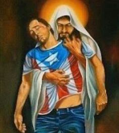 Proud to be Puerto Rican. Jesus has my back no matter what's going on in my life