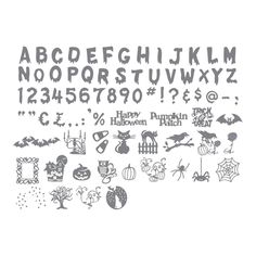 Perfect for all of your spooky creations!  A must have eclips cartridge for fans of Halloween!  http://www.sizzix.com/product/656858/sizzix-eclips-cartridge-halloween-scaredy-cat-alphabet
