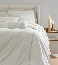 this bedding set features a duvet cover two shams one bolster pillow as well