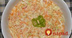Táto verzia kapustového šalátu vám určite zachutí. Je ľahký, rýchly, jednoduchý a chutí vynikajúco!