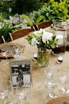 Floral and table arrangements