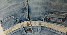 Ellegancy Costuras: Aumento de Cós Baixo, Aumentar cós de calça jeans, deixar o cós da calça maior