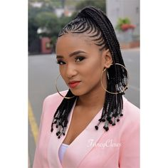 Braids Hairstyles are a simple way to breathe fresh air and still look elegant. African Braids are considered a cultural feature of the African people, African Braids Hairstyles, Fancy Hairstyles, Weave Hairstyles, Hairstyle Ideas, Hair Ideas, Hot Hair Styles, Curly Hair Styles, Natural Hair Styles, Braids For Kids