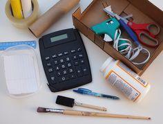 DIY Cardboard Cash Register | Handmade Charlotte