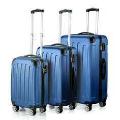 Timmari Hard Lightweight ABS Luggage Set – 29'   26'   21' Premium Quality Sturdy