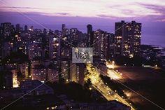 Veer - Affluent Malabar Hill Neighborhood, Bombay Stock Photo