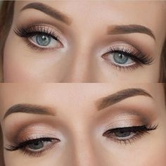 soft wedding makeup best photos - Make-Up Ideas Soft Wedding Makeup, Wedding Hair And Makeup, Bridal Eye Makeup, Simple Makeup For Prom, Natural Make Up Wedding, Bridal Makeup For Blue Eyes Blonde Hair, Evening Wedding Makeup, Evening Eye Makeup, Weeding Makeup