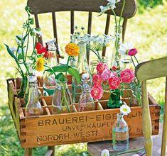 ▷ Dekorative Vasen aus Alltagsgegenständen selber machen