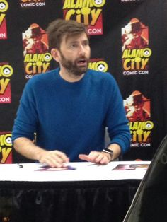David at the Comic Con San Antonio