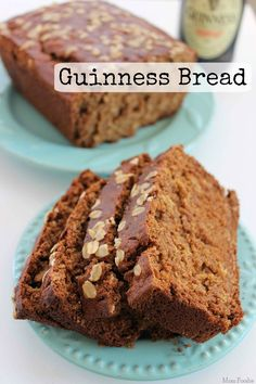 Guinness Bread is a wonderful treat any time of year, but with St. Patrick's Day coming up it is even more enticing. This easy bread recipe is perfect to make for breakfast or brunch, and goes very well with stews and baked beans too