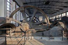 Abandoned Buildings, Abandoned Places, Abandoned Factory, Factories, Steam Punk, Cannon, Lost, Cool Stuff, Tools