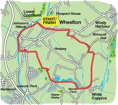 LancashireWalks.com - Wheelton