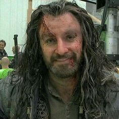 Dirty smiling Thorin :-)