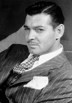 Clark Gable in a great suit